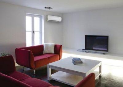 Installation de climatisation mono split