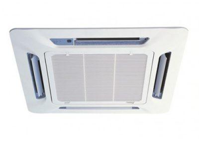 Installation de climatisation en cassette